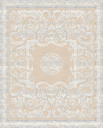Belle Vue Antique Scroll White